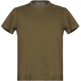《期間限定セール開催中!》RICK OWENS メンズ T シャツ ミリタリーグリーン XS コットン 100%