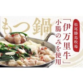 J218「伊万里牛」もつ鍋セット(2人前)特製スープ付