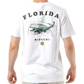 RIPCURL リップカール メンズ 半袖 Tシャツ T01-220 WHT M