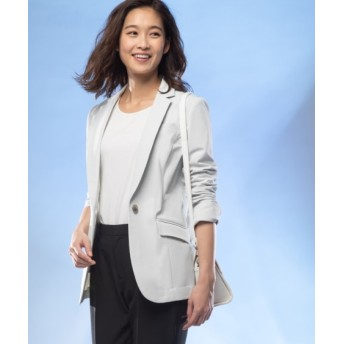 【ビズリート】ストレッチロング丈テーラードジャケット(上下別売りスーツ) (大きいサイズレディース)スーツ,women's suits ,plus size