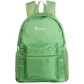Montenas バッグパック 折り畳み式 超軽量 リュックサック コンパクト 旅行 登山バッグ17L グリーン