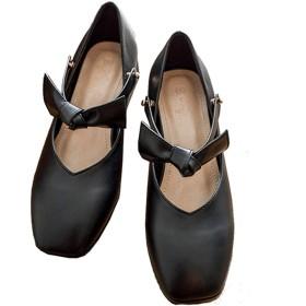 [Kg8d] パンプス 立ち仕事 痛くなりにくい レディース 靴 美脚 3.5cmヒールパンプス 歩きやすい 走れるパンプス安定感 抗菌 防臭 24.0cm ソフトクッション エレガント サンダル オフィス 黒 パンプス