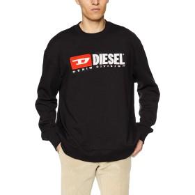 (ディーゼル) DIESEL メンズ スウェット ビンテージロゴスウェット 00SHEP0CATK XL ブラック 900