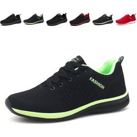 [WOWEI] スニーカー スポーツ カジュアル トラベル ウォーキング ジョギング 日常着用 メンズ レディース ランニングシューズ