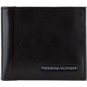 [トミーヒルフィガー]TOMMY HILFIGER 二つ折り財布 CAMBRIDGE 31TL25X023 メンズ 001 Black [並行輸入品]