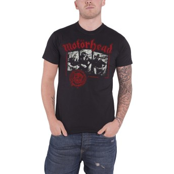 Motorhead T Shirt Stamped Warpig Seal Band Logo 公式 メンズ 新しい Size L