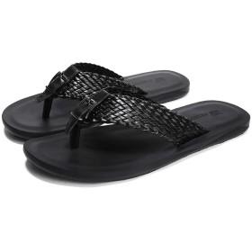 [Kg8d] トングサンダル 26.0cm ベランダ メンズ ビーチシューズ 夏 アウトドア ブラック コンフォート シンプル ビーサン 滑り止め 軽量 大きいサイズ 男性 ビーチサンダル ビーチ サンダル 痛くない 歩きやすい 軽い ビーチサンダル