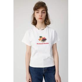 [マウジー] tシャツ PERMANENT VACATION Tシャツ 010CSQ90-0750 FREE ホワイト レディーズ