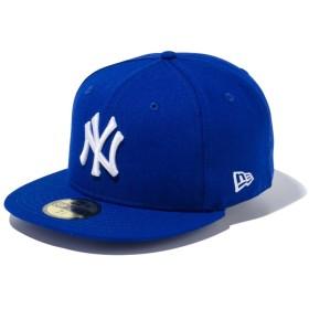 【メーカー取次】 NEW ERA ニューエラ 59FIFTY MLB NY ライトロイヤルXホワイト 11308550 キャップ(ライトロイヤルXホワイト 表記7 5/8)