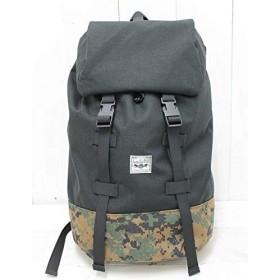 SANTA ANA MFG バックパック(大) 【SA15-003】 … (ブラックxカモ)