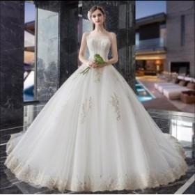 ウエディングドレス/ロングドレス/パーティードレス/披露宴ドレス/結婚式/二次会/花嫁/超可愛い/人気新品 WS-650