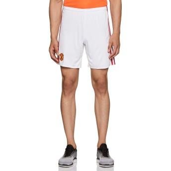 (アディダス)adidas サッカーウェア マンチェスターユナイテッドFC ホーム レプリカ ショーツ BFT32 [メンズ] AI6714 ホワイト/リアルレッドS10 L