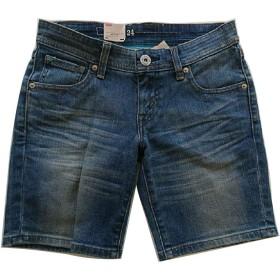 (リーバイス) LEVI'S ダメージジーンズ ショートパンツ ショーツ ホットパンツ 短パン デニム 49846-0002 24 (ブルー)