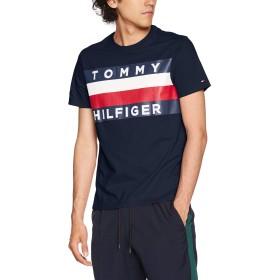 (トミーヒルフィガー) TOMMY HILFIGER 【オンライン限定】ロゴ フラッグ Tシャツ/UPSTATE FLAG TEE 08578D5647 M ネイビー