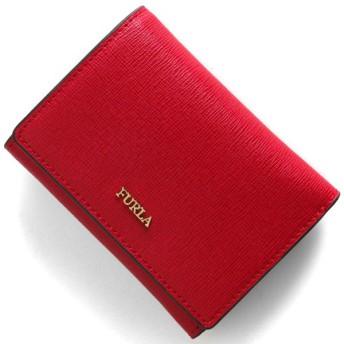 フルラ 三つ折り財布/ミニ財布 財布 レディース バビロン スモール ルビーレッド PBP2 B30 RUB 1023479 FURLA