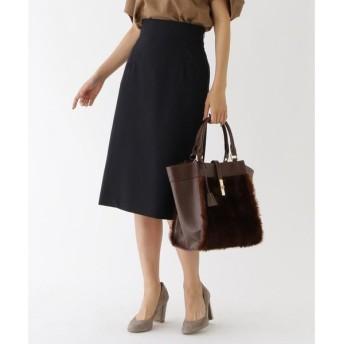 aquagirl / アクアガール バックスリットプリーツスカート