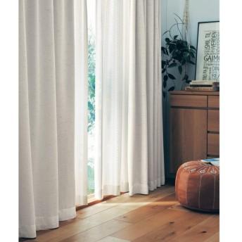 カーテン カーテン 日本製 ベルメゾンデイズ 先染めの風合いある遮光 遮熱カーテン ピンク