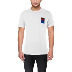 男性用オフホワイトTシャツオフホワイトM(中)綿100% Off White T-Shirt for Men Off White Medium (M) 100% Cotton