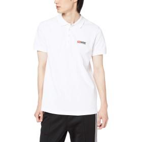 (ディーゼル) DIESEL メンズ ポロシャツ ロゴデザインポロ 00SY860BAWH XXL ホワイト 100