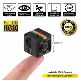 SQ11 ミニカメラ 1080P マイクロスポーツカメラ ナイトビジョンビデオ ボイスレコーダー