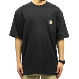[カーハート] CARHARTT 正規品 メンズ 半袖Tシャツ WORKWEAR POCKET SHORT-SLEEVE T-SHIRT K87 BLK XL 並行輸入品 (コード:4115141113-5)