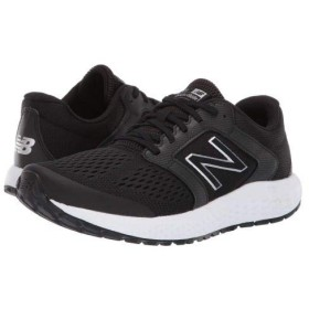 [ニューバランス] メンズ 男性用 シューズ 靴 スニーカー 運動靴 M520v5 - Black/White 7.5 D - Medium [並行輸入品]