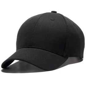 MORL キャップ 帽子 紫外線対策 速乾 軽薄 男女兼用 登山 釣り ゴルフ 野球 スポーツ 旅行 無地ブラック
