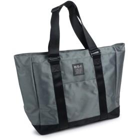 [mobac]トートバッグ バッグ メンズ 軽量 大きい 大型 大容量 シンプル カジュアル ファッション 旅行 お出掛け 20L オシャレ (グレー)