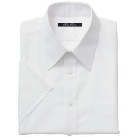 【メンズ】 形態安定衿型バリエーションYシャツ(半袖) - セシール ■カラー:ホワイトA(レギュラー衿) ■サイズ:LL,S,3L,5L