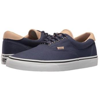 (バンズ) VANS メンズスニーカー・靴 Era 59 (Veggie Tan) Crown Blue/True White Men's 9.5, Women's 11 27.5cm (レディース 28cm) Medium [並行輸入品]
