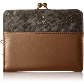 [アーベーベー] 二つ折財布 MJ5992 ダークブラウン