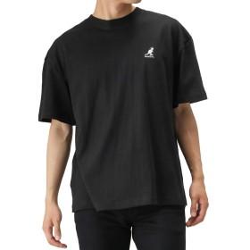 KANGOL ワンポイントTシャツ 半袖Tシャツ クルーネック 9273-0123 メンズ ブラック:L