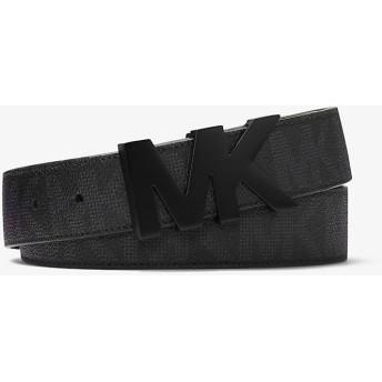 MICHAEL KORS MEN'S メンズ 34mm MK ハードウェア ベルト メンズ全アイテム ブラック マイケル・コース