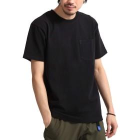 [ジップファイブ] ZIP FIVE ZIP FIVE × KANGOL ヘビーウェイト袖ワッペンクルーネック半袖Tシャツ kgsa-zi1910 1111BLACK S