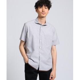 TAKEO KIKUCHI / タケオキクチ ハケメギンガムチェックシャツ