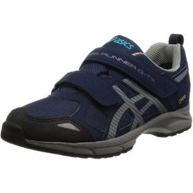 [アシックス スクスク] 運動靴 スニーカー スクスク ゲルランナー GELRUNNER G-TX Jr. キッズ ネイビーブルー/グレー 24.5 cm