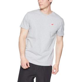 [ニューバランス] Tシャツ エッセンシャルNBレガシーT AG(アスレチックグレー) 日本 M (日本サイズM相当)