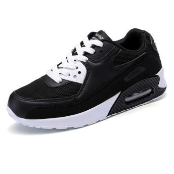 [パルクール] ユニセックス大人の快適なスポーツランニングシューズスニーカーメンズブーツ 28.5cm 黒