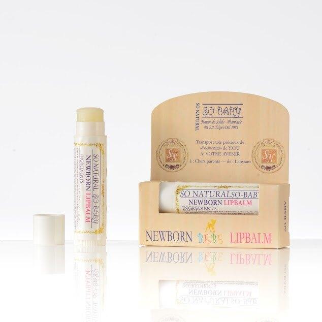 嬰兒保護唇膏5g--舒耐潔 天然 無毒 環保 臉部護膚保養用品