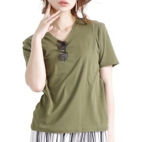 [マルイ] 大きいサイズ レディース カットソー Tシャツ 接触冷感 日本製/ゴールドジャパン(大きいサイズ)(GOLDJAPAN)