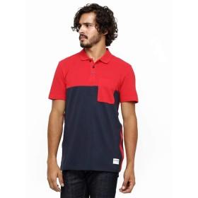 [PUMA(プーマ)] トップス RED BULL RACING SSポロシャツ 571375 [メンズ] (04/レッド×ネイビー 【L】)