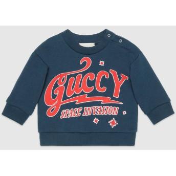 〔ベビー〕Guccy プリント スウェットシャツ