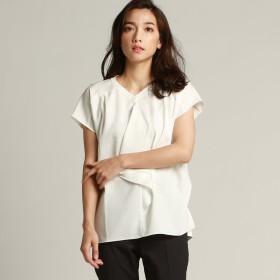 LAUTREAMONT(ロートレアモン)/インナーにも一枚着にも活躍する タイ風のドレーププルオーバー