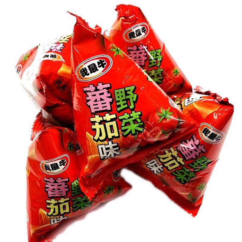 我最牛牛角酥-野菜番茄(20入) 500g【4719778004870】(馬來西亞零食)