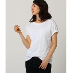 JET / ジェット 【洗える】スター織りコットンTシャツ