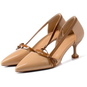 [Donahutt03] 結婚式 パンプス 靴 パーティー ハイヒール 痛くない おしゃれ 24.0cm ドレスの靴 長時間 疲れない サンダル レディース 履きやすい 歩きやすい あんずいろ 卒業式 母の日 20代 30代