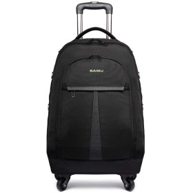 クロース(Kroeus) 3wayスーツケース 機内持込 撥水加工 軽量 人気 トランク 旅行 出張 キャリーケース 大容量 2段調節キャリーバー ブラック