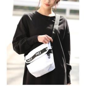 【ViS:バッグ】【MEI×ViS】リサイクルナイロンミニメッセンジャーバッグ