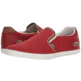 Lacoste(ラコステ) メンズ 男性用 シューズ 靴 スニーカー 運動靴 Jouer Slip 318 1 - Red/Tan 12 M [並行輸入品]