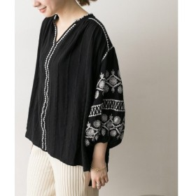 URBAN RESEARCH / アーバンリサーチ ne Quittez pas CTN EMB GATHER TUNIC